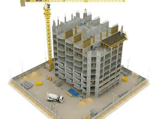 عمر ساختمان با متد FRP