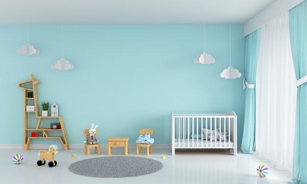نکاتی که در رنگ آمیزی اتاق کودک حائز اهمیت هستند