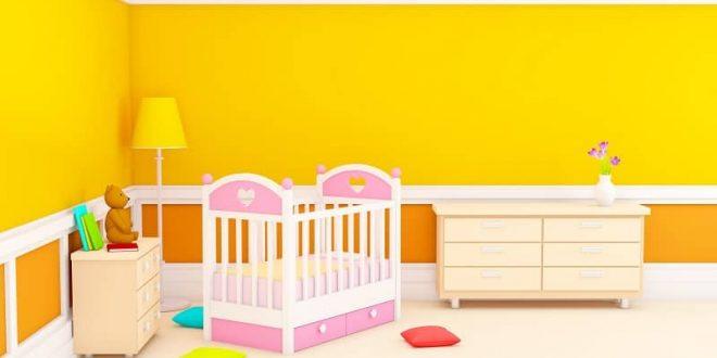 رنگ آمیزی اتاق کودک