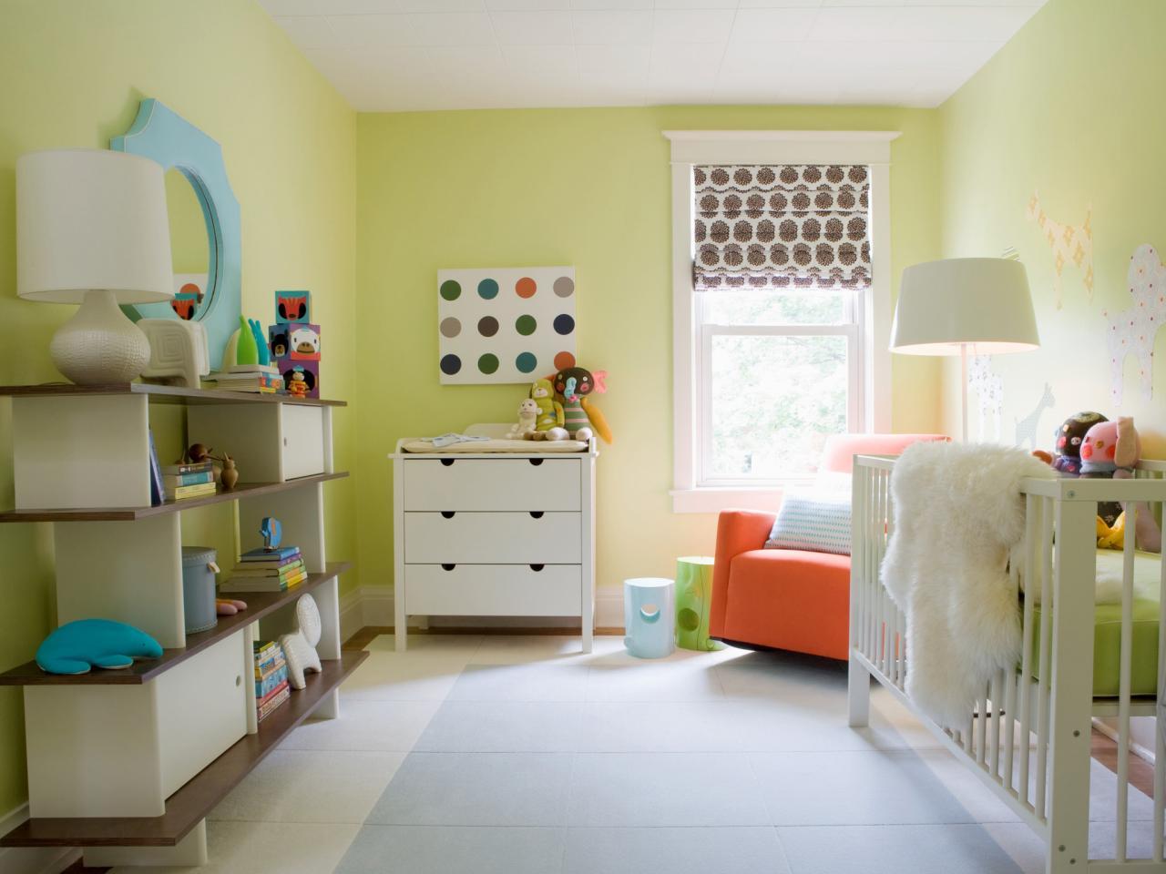 رنگ های ملایم مناسب اتاق کودک