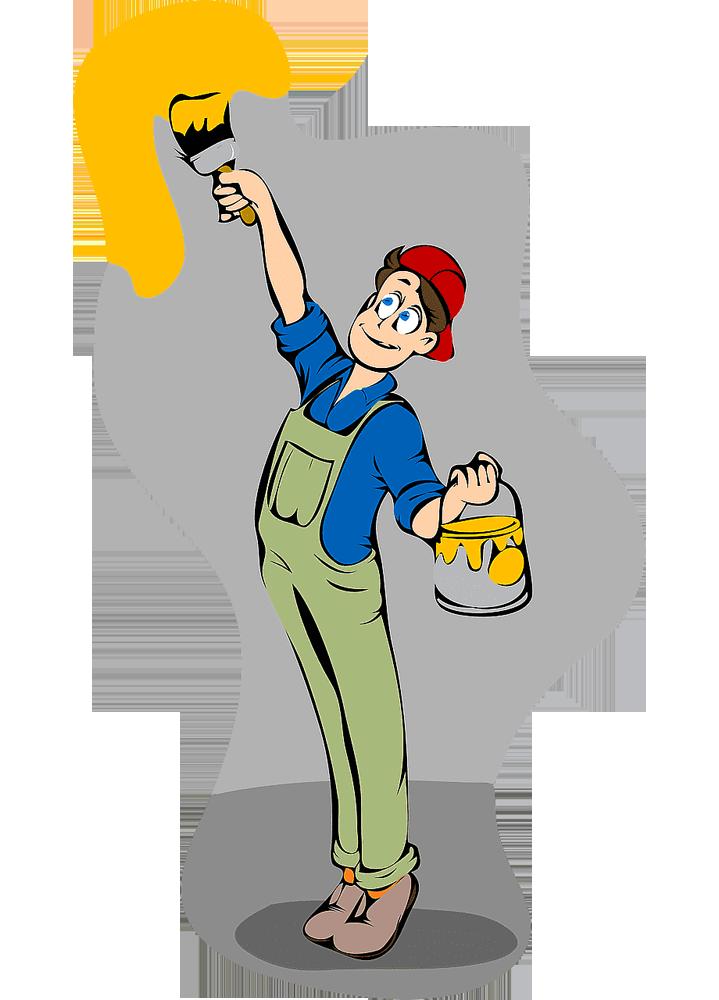 آماده سازی برای فرایند نقاشی ساختمان